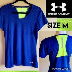 Under Armour Womens T-Shirt Running Semi-Fitted M